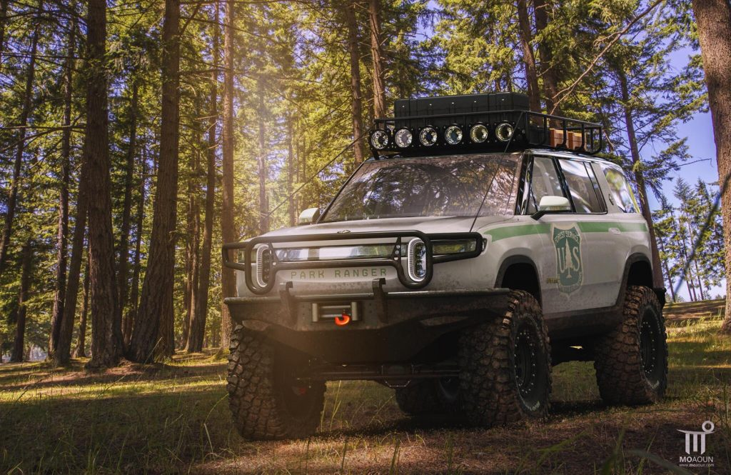 "rivian-r1s-park-ranger-1024x665 Rivian R1S are deja un proiect ""extrem off roader"""