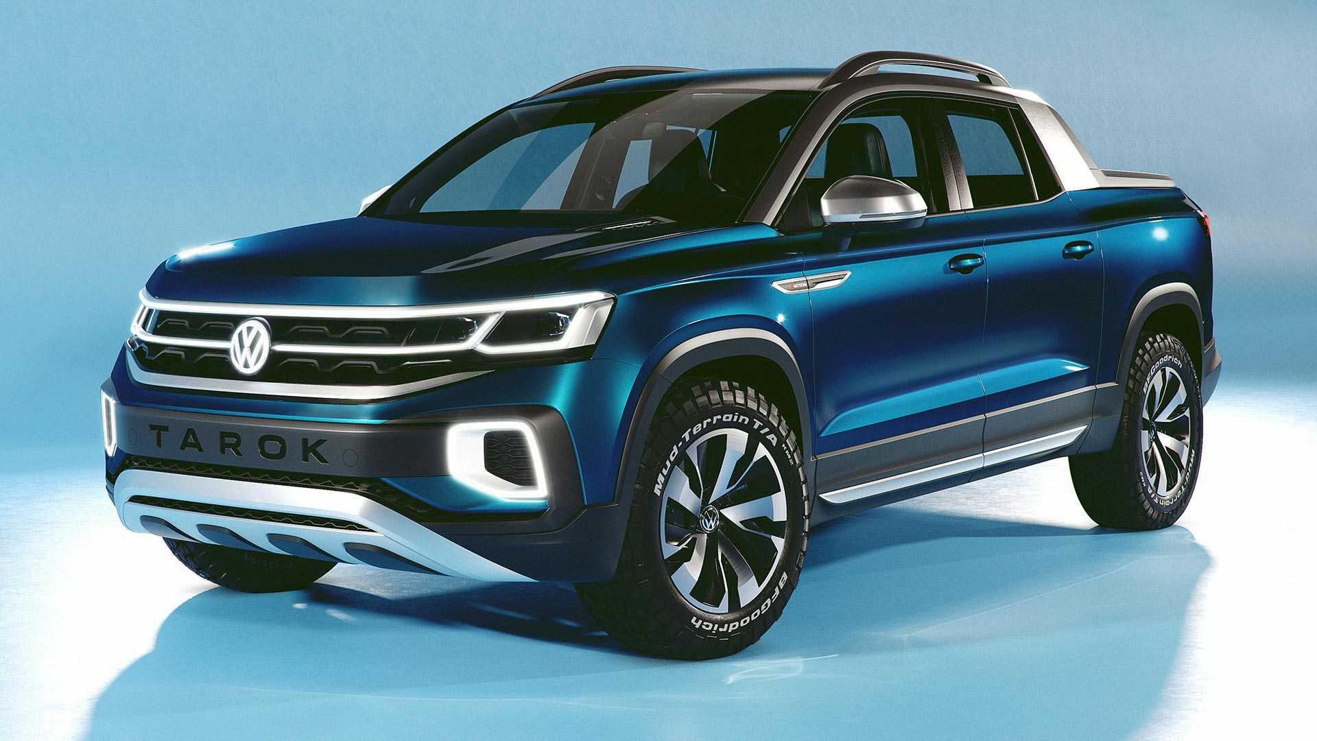 volkswagen-tarok-concept-2 Conceptul VW Tarok - pick-up compact pentru productie