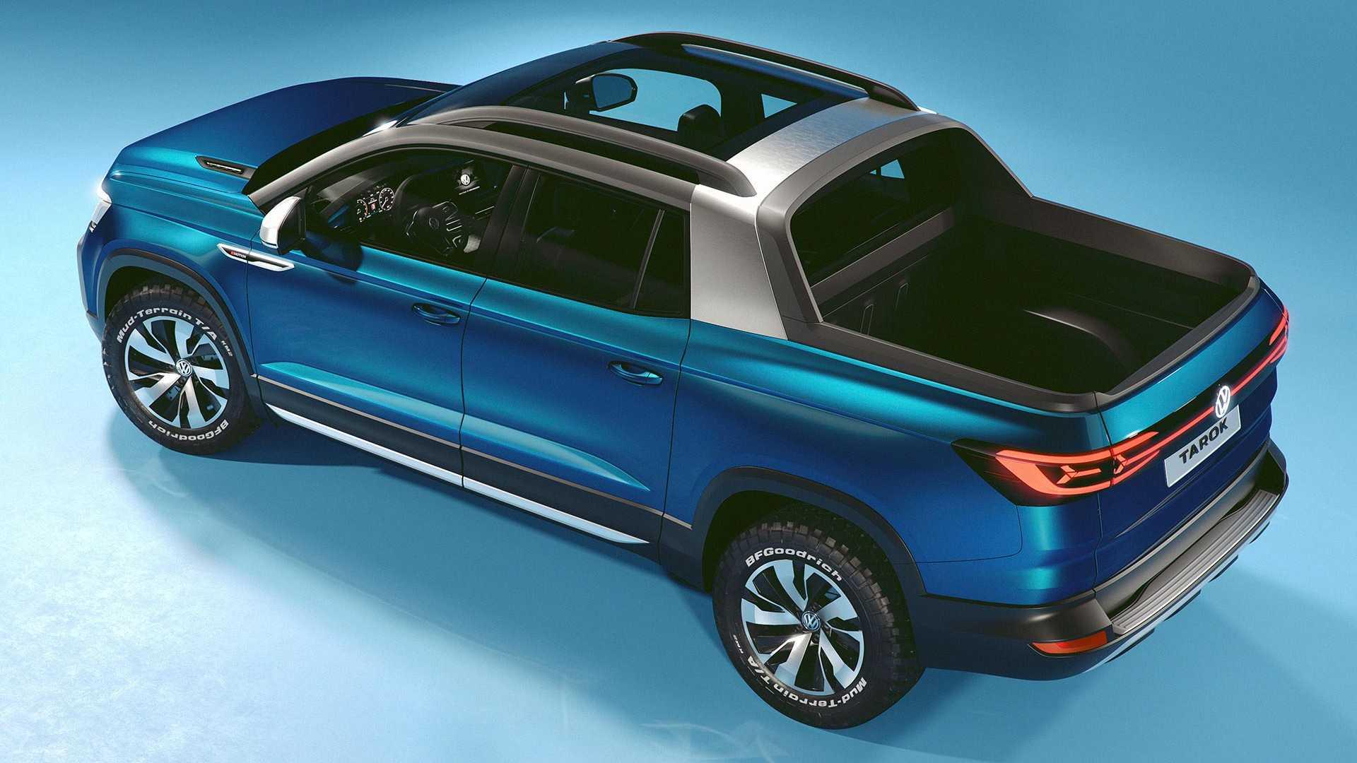 volkswagen-tarok-concept-3 Conceptul VW Tarok - pick-up compact pentru productie
