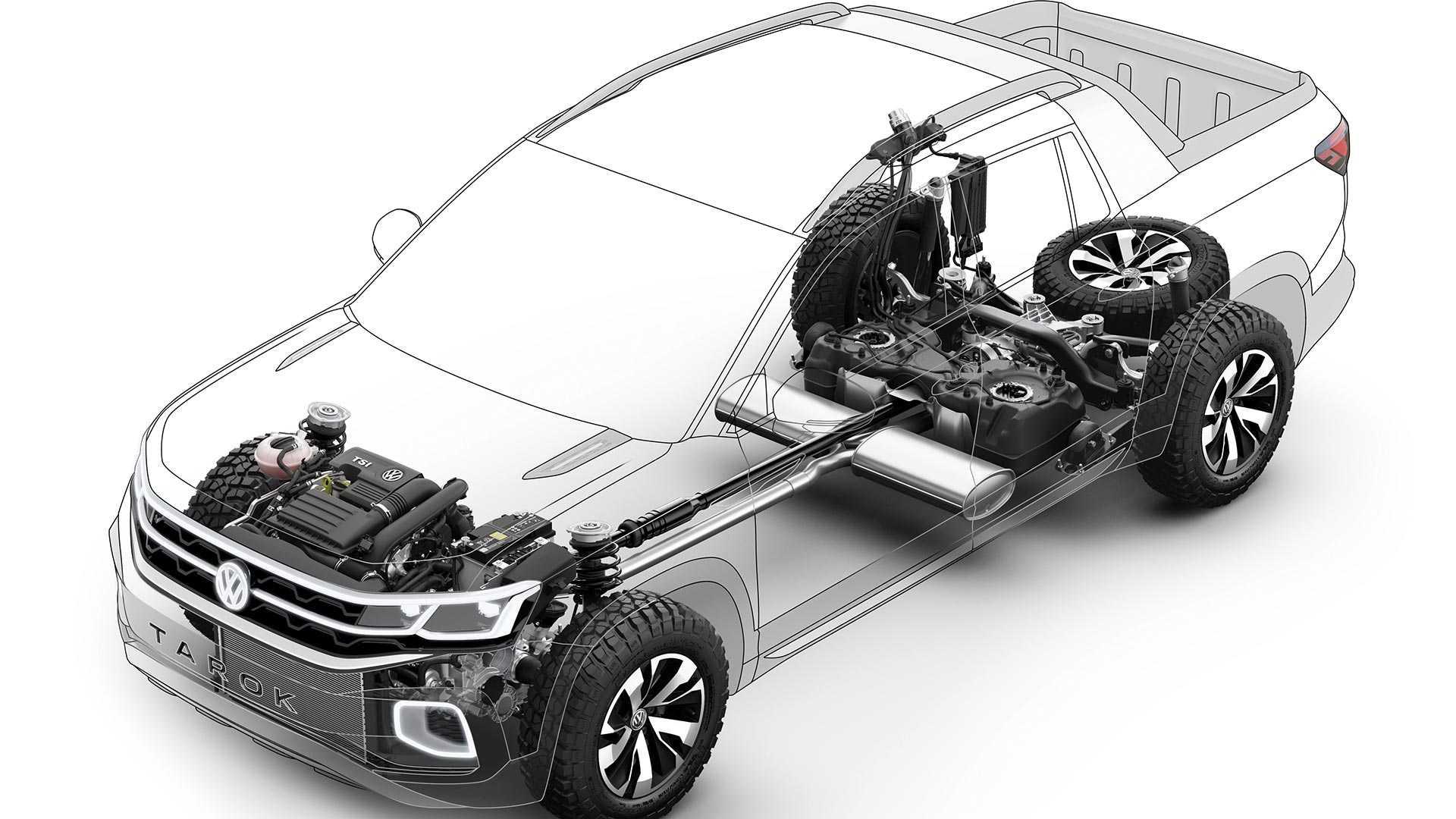 volkswagen-tarok-concept-6 Conceptul VW Tarok - pick-up compact pentru productie