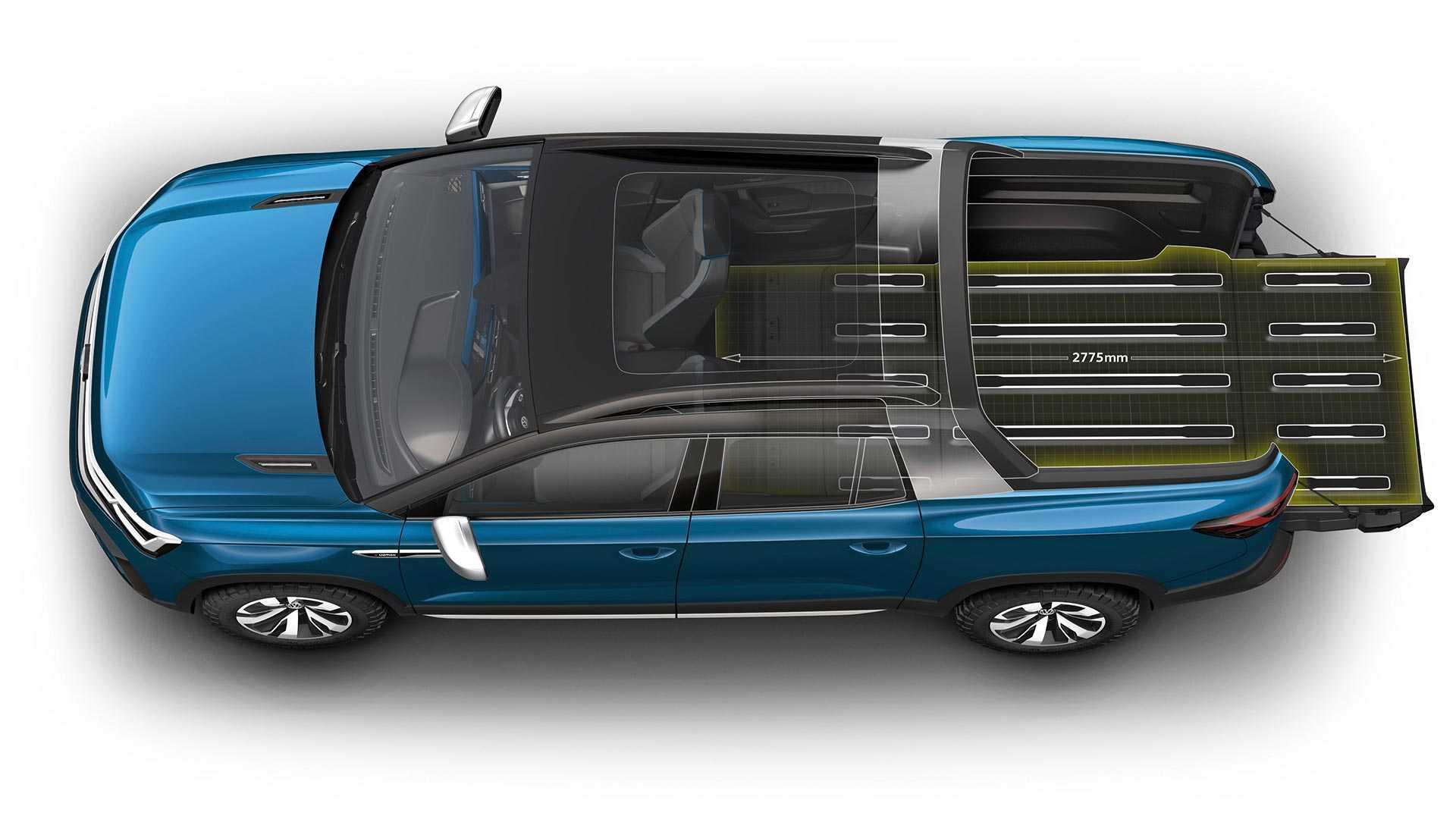 volkswagen-tarok-concept Conceptul VW Tarok - pick-up compact pentru productie