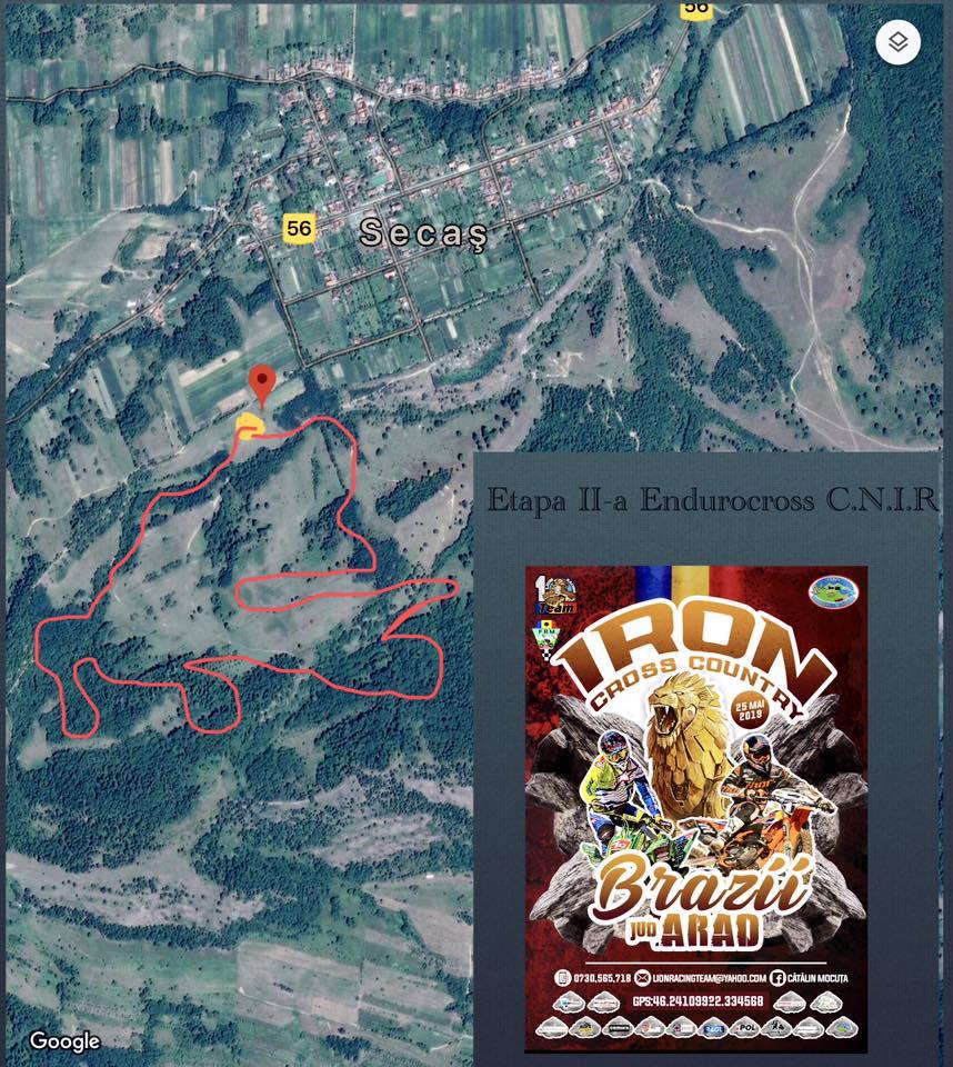traseu Endurocross Extrem 2019: Iron Crosscountry la Secas