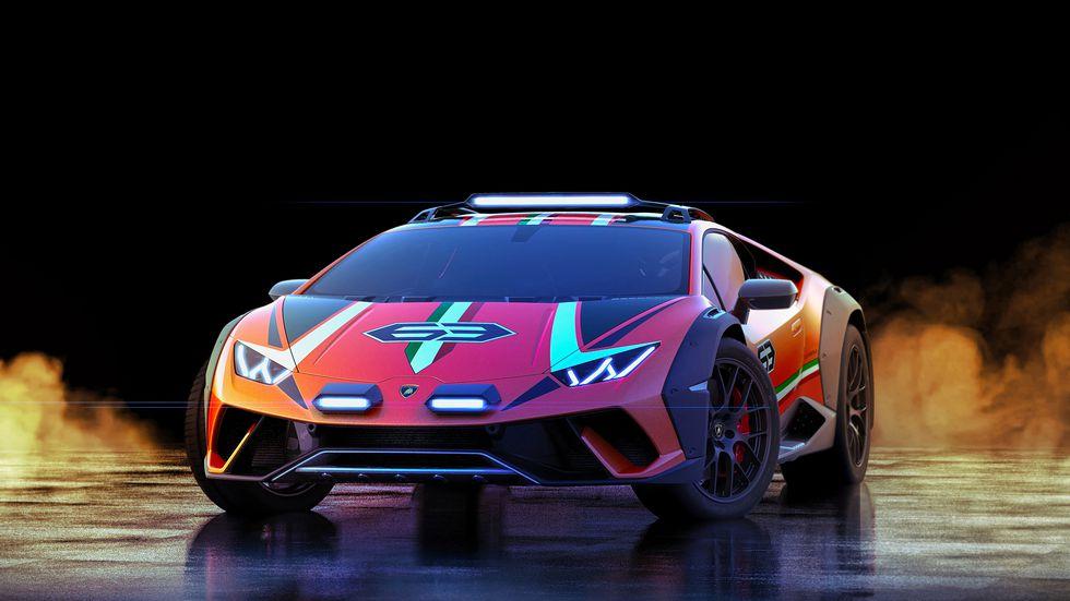 Lamborghini-Huracan-Sterrato-2 Lamborghini Huracan face off-road!