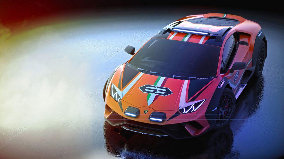Lamborghini-Huracan-Sterrato-3 Lamborghini Huracan face off-road!