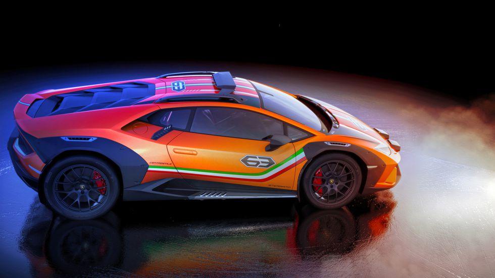 Lamborghini-Huracan-Sterrato-4 Lamborghini Huracan face off-road!