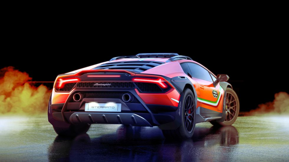 Lamborghini-Hurracan-Sterrato-5 Lamborghini Huracan face off-road!