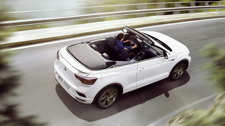 T-Roc-Cabriolet-decapotat T-Roc, SUV-ul compact de la Volkswagen, versiune de vara!