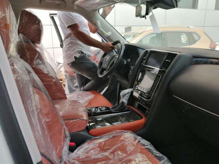 "Nissan-Patrol-interior Nissan Patrol 2020 in imagini ""spion"""