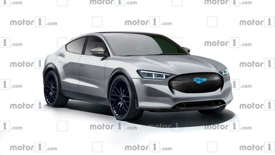 mustang-based-electric-crossover-rendering-1068x601 Ford isi testeaza SUV-ul electric. Lansarea, in noiembrie!