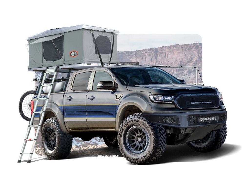 2019HellwigRanger3 Ranger si Transit, peste 50 de versiuni custom pentru SEMA