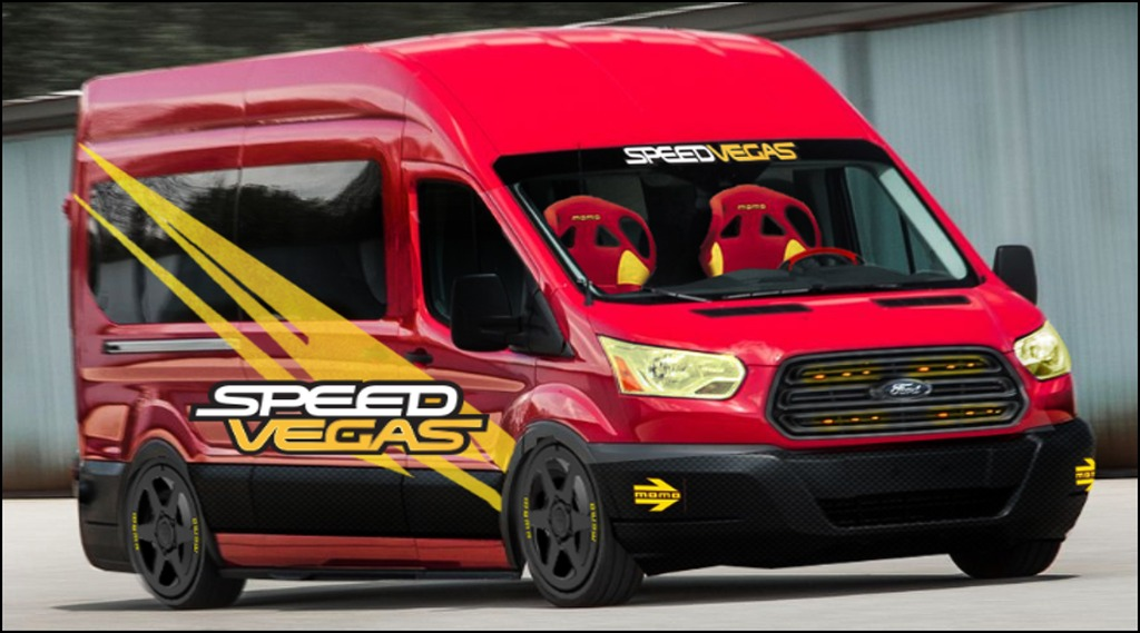 Speedvegas-Transit Ranger si Transit, peste 50 de versiuni custom pentru SEMA