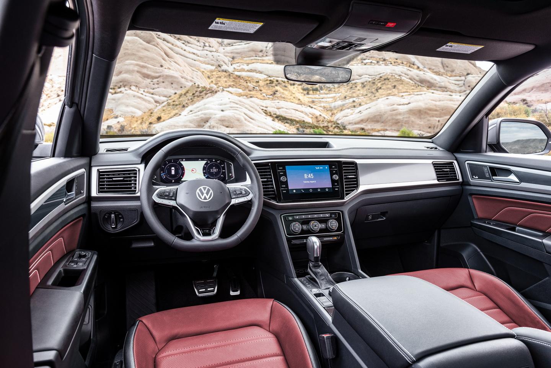 Volkswagen-Atlas-Cross-Sport-3 Volkswagen isi creste gama SUV cu Atlas Cross Sport