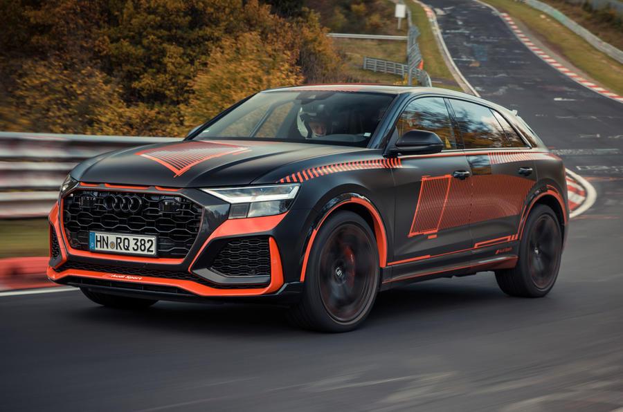 Audi-RSQ8_2 Audi RSQ8, noul rege SUV pe Nurburgring