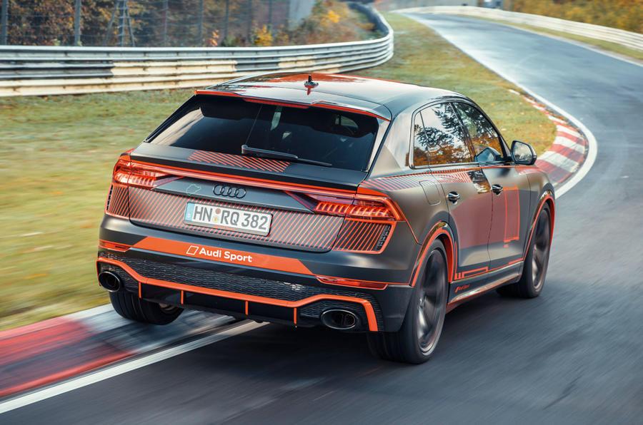 Audi-RSQ8_3 Audi RSQ8, noul rege SUV pe Nurburgring