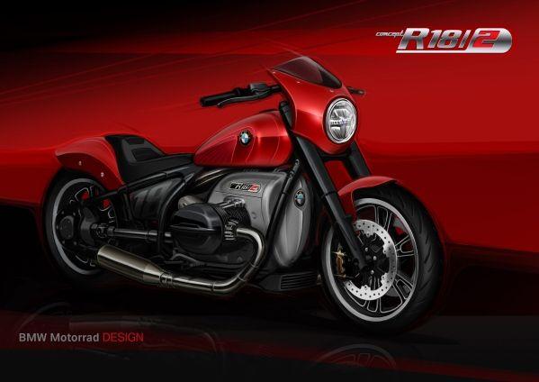 BMW-Motorrad-R-18-2 BMW Motorrad R 18 si R 18 /2, un motor, doua caractere