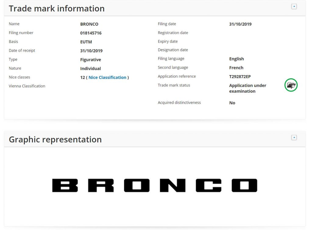 Ford-Bronco-Trademark-Europe-001-1024x756 Ford Bronco vine si in Europa! In 2021?