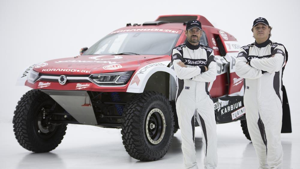 SsangYong-Korando-DKR-2 SsangYong Korando DKR pentru editia 2020 din Dakar