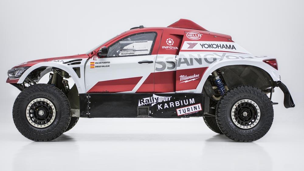 SsangYong-Korando-DKR-4 SsangYong Korando DKR pentru editia 2020 din Dakar