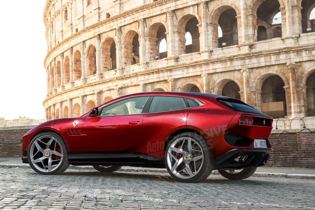 SUV-Ferrari SUV Ferrari, detalii noi despre Purosangue