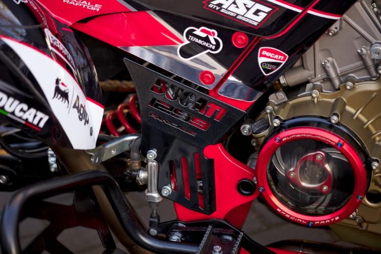 Raptor-Panigale_7 Raptor Panigale, ATV Yamaha cu inima Ducati