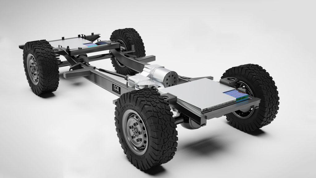 ECD-Defender-Tesla_2-1024x576 ECD transforma Defender inclusiv in model EV