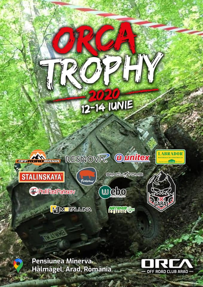 "100686495_3270378309660717_8154679582566383616_n Off Road, start cu Cupa ""ORCA Trophy"" 2020"