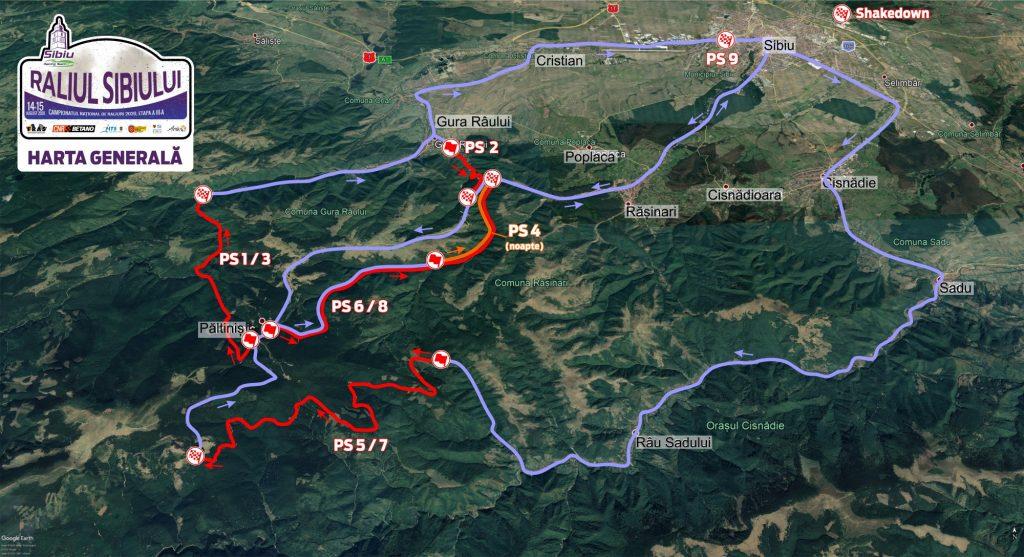 harta-RSB2020-CNRB-generala-1024x557 Raliul Sibiului revine in 2020 pe macadam!