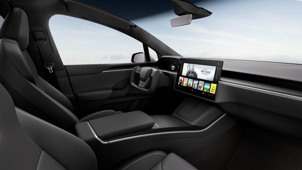 Tesla-Model-X-interior-1024x576 Tesla Model S Plaid +, un recordman, și Model X facelift