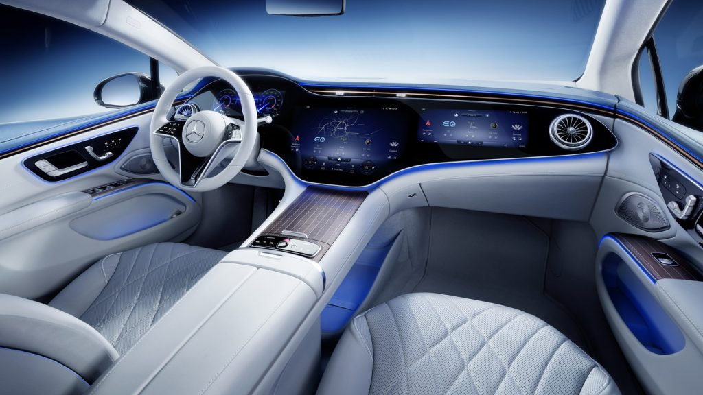 EQS-2 EQS: prima limuzină electrică din segmentul luxury