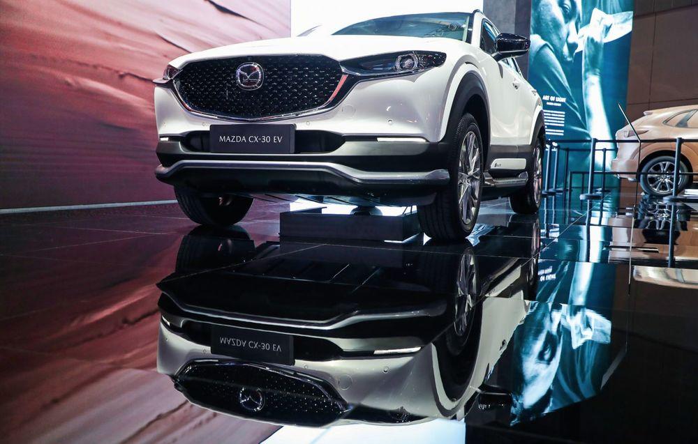 SUV-Mazda-CX-30-EV SUV, segment în vogă și la Shanghai
